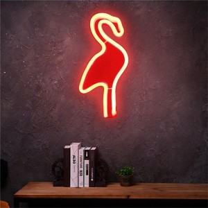 Neonlamp Flamingo