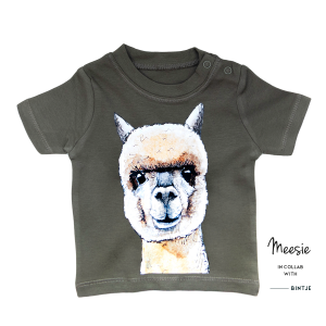 T-shirt kids Alpaca