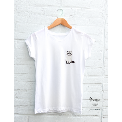 T-shirt dames Wasbeer