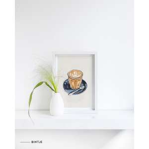 Poster Food Cappuccino