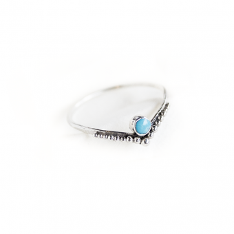 Ring Turquoise zilver