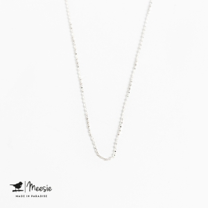 Ketting: Tiny Twisted ketting zilver