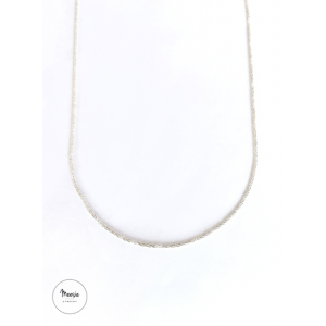 Ketting: Miracle zilver