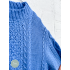 Sweater knitted Baby Blue