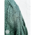Sweater knitted Emerald green